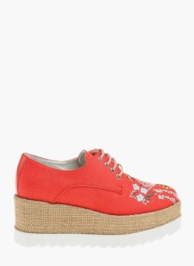 Divarese Ayakkabı Kırmızı
